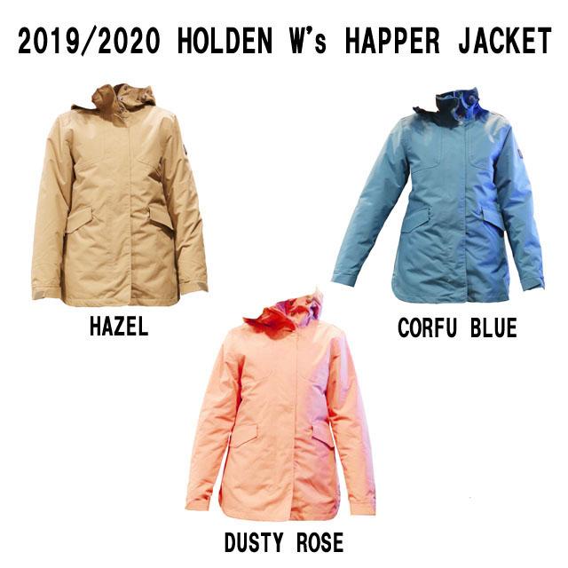 19-20モデル☆HOLDEN【ホールデン】W's HARPER JACKET☆スノーボード レディース ウェア【正規品】