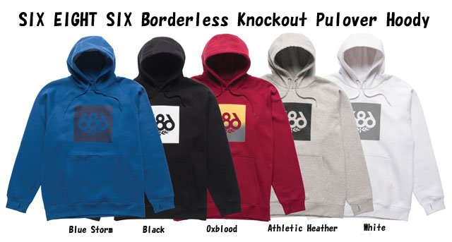 ☆20-21☆686【SIX EIGHT SIX】 パーカー Knockout Pullover Hoody スノーボード