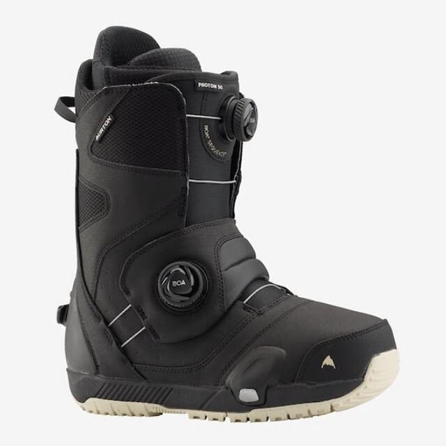 スノーボーディング史上最も直感的なブーツとバインディングのコネクションを体感 2021 BURTON STEPON PHOTON WIDE BOA オーバーのアイテム取扱☆ ステップオン BOOTS MENS BLACK ブーツ 送料無料カード決済可能 バートン