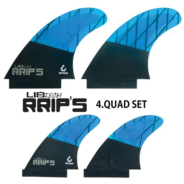 LIBTECH【リブテック】RRIP'S FIN【リップスフィン】QUAD SET【クアッドセット】BLUE青