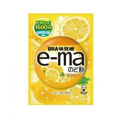 【全商品ポイント10倍 12/24(火)20:00~12/26(木)1:59】味覚糖 e-maのど飴袋 レモンソーダ 50g×72個