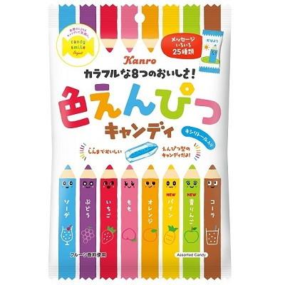 カンロ いろえんぴつキャンディ 80g×6個×2セット