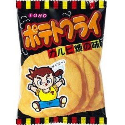 トーホー ポテトフライカルビ焼×240個  /駄菓子/子供会/お祭り/景品/