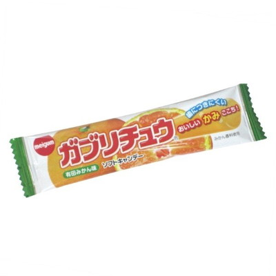 明治 有田みかんガブリチュウ×360個  /駄菓子/子供会/お祭り/景品/