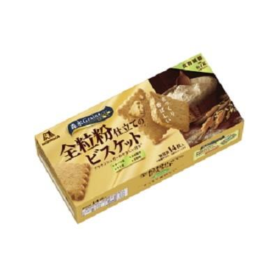 森永製菓 ・全粒粉仕立てのビスケット 14枚×30個