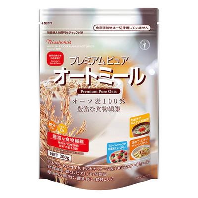 ☆送料無料☆(北海道・沖縄以外) 日本食品製造 日食 プレミアムピュア オートミール300g×4個