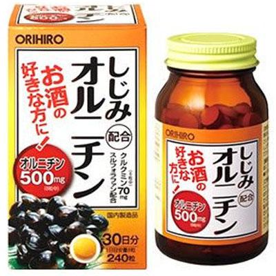 オリヒロPD しじみ配合オルニチン 240粒×48個  【送料無料】