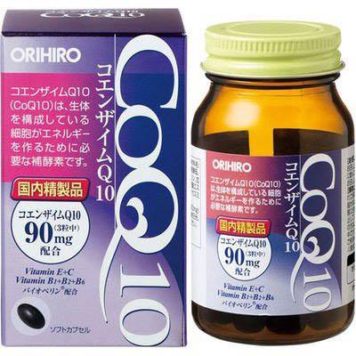 オリヒロ コエンザイムQ10 90粒×10個  【送料無料】