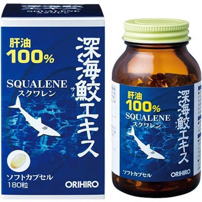 オリヒロ 深海鮫エキス粒 180粒×10個  【送料無料】