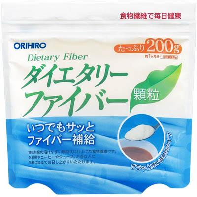 オリヒロ ダイエタリーファイバー顆粒 200g×24個  【送料無料】