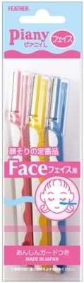 フェザー フェザー ピアニィ L(フェイス用) 3本×288個  【送料無料】