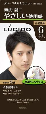 マンダム ルシード ワンプッシュケアカラー 6 1組×36個  【送料無料】