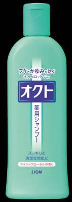 ☆送料無料☆ 北海道 沖縄以外 人気急上昇 ライオン オクト 薬用シャンプー 送料無料 320ml×24個 格安激安