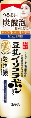 常盤薬品 なめらか本舗 豆乳イソフラボンパーフェクト泡洗顔 110g×36個  【送料無料】