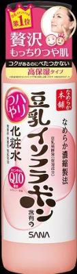 常盤薬品 なめらか本舗 豆乳イソフラボンハリつや化粧水 200ml×36個  【送料無料】