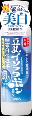 常盤薬品 なめらか本舗 豆乳イソフラボン 薬用美白化粧水 200ml×36個  【送料無料】
