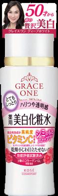 KCP グレイスワン 薬用美白化粧水 とてもしっとり 180ml×36個  【送料無料】