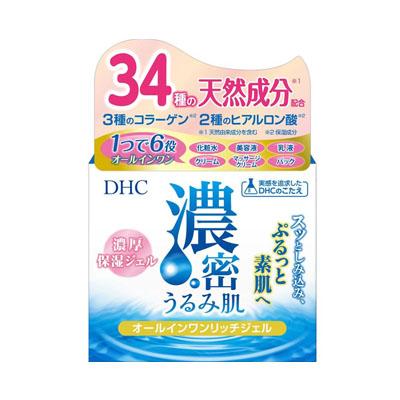 DHC 濃密うるみ肌 オールインワンリッチジェル 120g×24個  【送料無料】