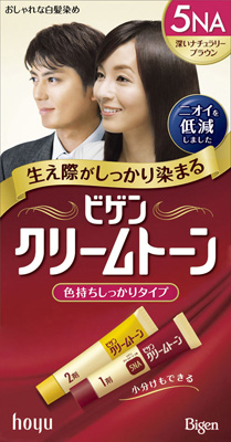 ホーユー ビゲン クリームトーン 5NA 1組×54個  【送料無料】