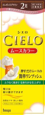 ホーユー CIELO ムースカラー FLの香り 2E 1組×27個  【送料無料】