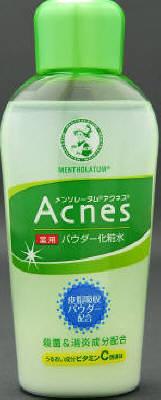 ロート製薬 メンソレータム アクネス パウダー化粧水 120ml×60個  【送料無料】