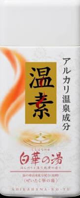 アース製薬 温素 白華の湯 600g 600g×32個【送料無料】【入浴剤】