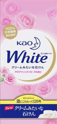 花王 花王ホワイト アロマティックローズの香り R6個 6個×40個【送料無料】【ハンドソープ】【ボディソープ】