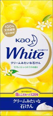 花王 花王ホワイト リフレッシュ・シトラスの香り R6P 510g×40個【送料無料】【ハンドソープ】【ボディソープ】