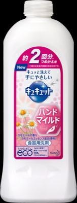 花王 キュキュットハンドマイルド カモミールの香り 詰替 370ml×32個【送料無料】【食器用洗剤】