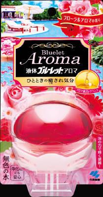 小林製薬 液体ブルーレットおくだけアロマ フローラルA 70ml×96個【送料無料】【消臭剤】【芳香剤】