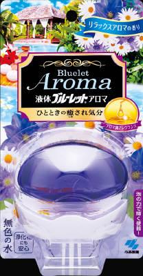 小林製薬 液体ブルーレットおくだけアロマ リラックスA 70ml×96個【送料無料】【消臭剤】【芳香剤】