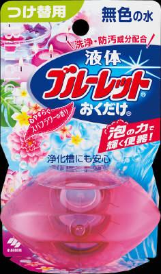 小林製薬 液体ブルーレットおくだけつけ替 スパフラワー 70ml×96個【送料無料】【消臭剤】【芳香剤】