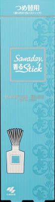 小林製薬 Sawaday香るStick替 パルファムブルー 70ml×140個【送料無料】【消臭剤】【芳香剤】