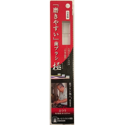 磨きやすい歯ブラシ極 ふつう×480個