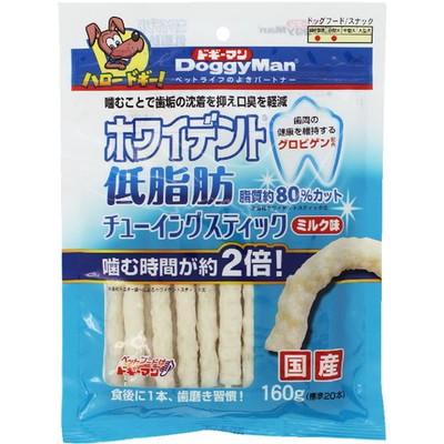 ホワイデント低脂肪チューイングSTミルク160g×24個