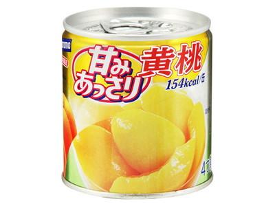 はごろもフーズ 甘みあっさり黄桃 24個×2ケース(48個) 【送料無料】