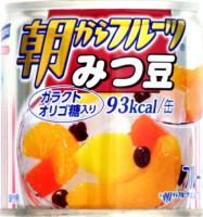 ★スーパーセール特価★ はごろもフーズ 朝からフルーツみつ豆 24個×3ケース(72個) 【送料無料】
