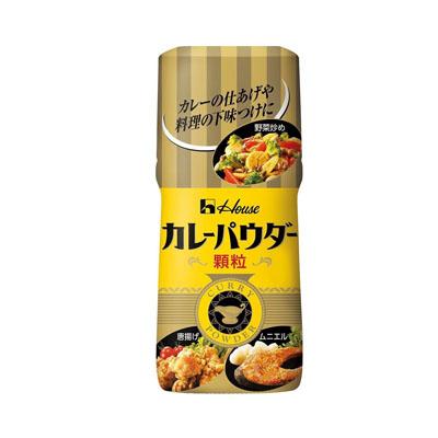 ハウス食品 カレーパウダーか粒 ×60個【送料無料】