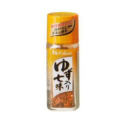 ハウス食品 柚子入り七味14g ×80個【送料無料】