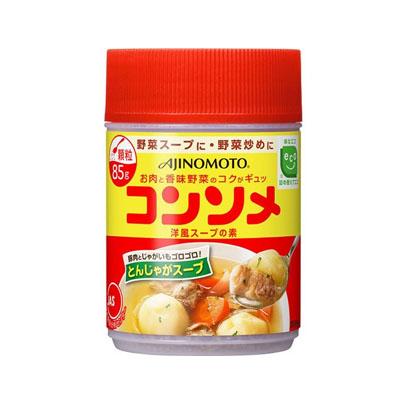 味の素 コンソメ か粒容器85g ×72個【送料無料】