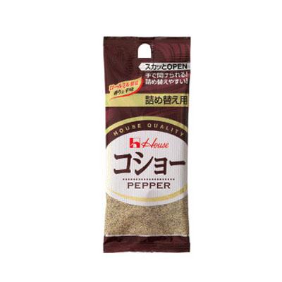 ハウス食品 あらびきコショー袋入り12g ×120個【送料無料】