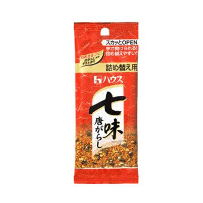 ハウス食品 ハウス 袋七味唐がらし 12g ×120個【送料無料】