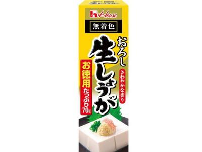 ハウス食品 おろし生しょうがお徳用 ×60個【送料無料】