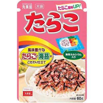 丸美屋食品工業 丸美屋 たらこ 大袋 袋60g×80個 【送料無料】