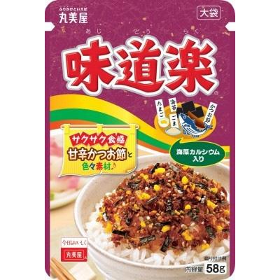 丸美屋食品工業 丸美屋 味道楽 大袋 袋58g×80個 【送料無料】