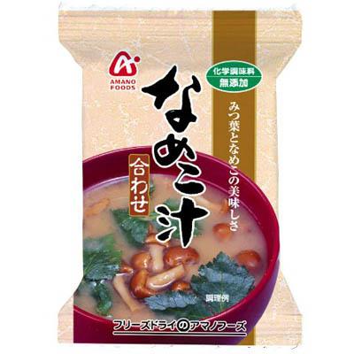 天野実業 FDなめこ汁合わせ1食×120個 【送料無料】