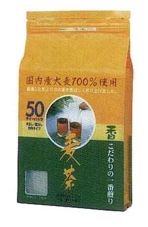 香り麦茶 10gx50px12入 むぎちゃ 正規品 むぎ茶 パック ソフトドリンク 大注目 2l