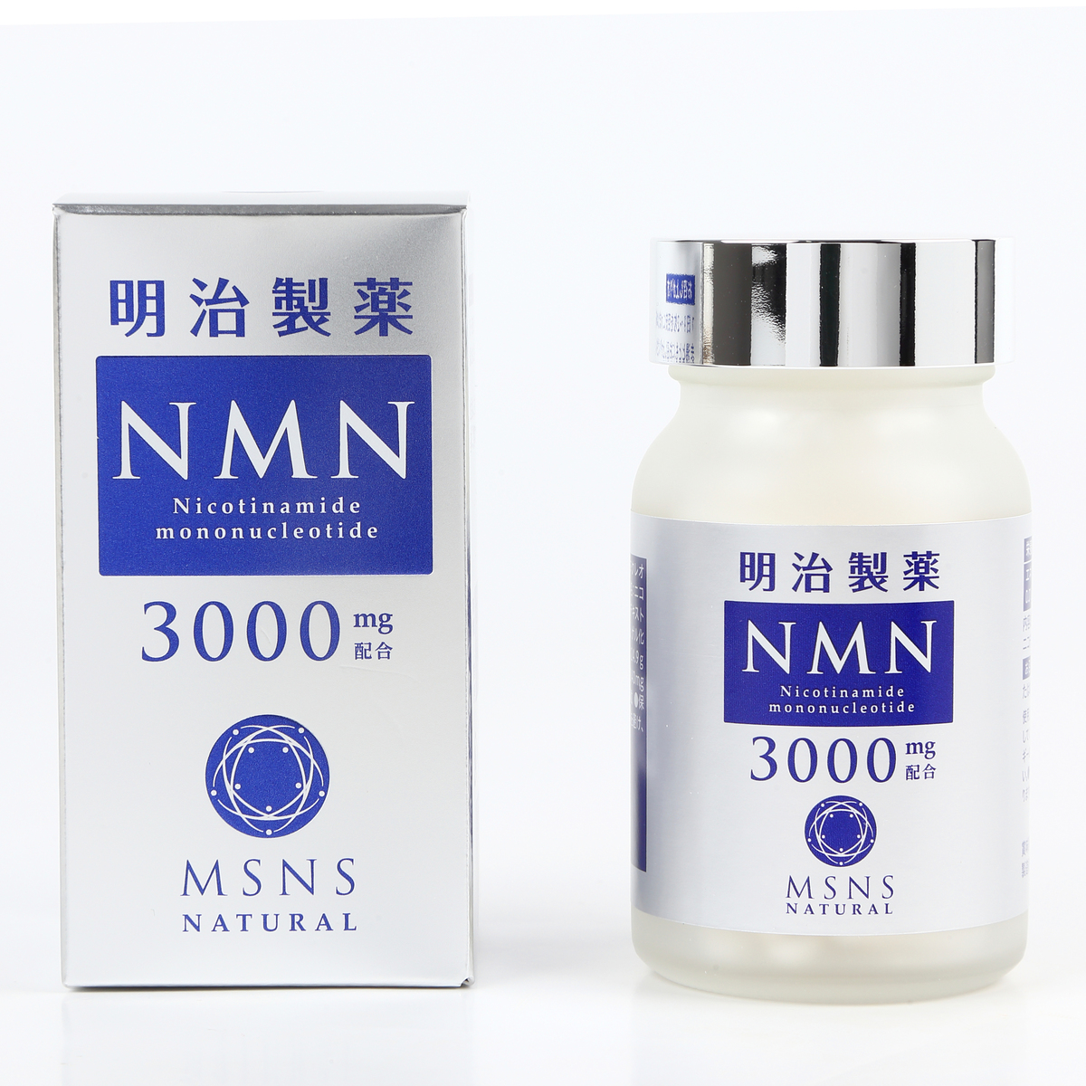 超定番 明治製薬 NMN 半額 3000mg 60粒 Natural