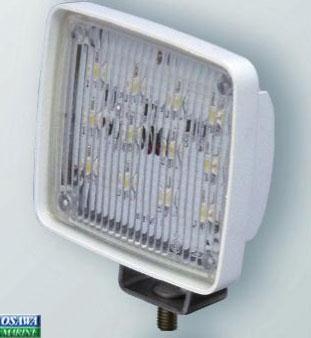 スプレッダー(拡散)LEDライト 角型 12LED 商品番号:33618 【ユニマットマリン・大沢マリン・ボート用品・船舶】