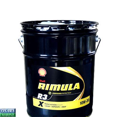 オイル シェル リムラ R3 10W-30 20L 商品番号:33625 【ユニマットマリン・大沢マリン・ボート用品・船舶】